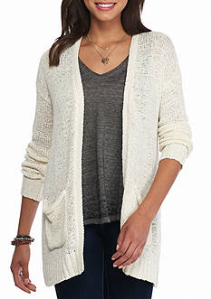 Oh M G! Tape Yard Pocket Cardigan
