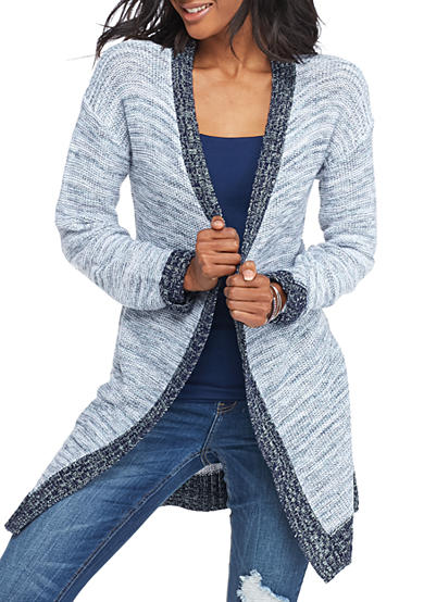 Oh M G! Marled Duster Cardigan
