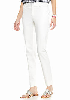 crown & ivy™ Bi-Stretch Clean Ankle Pants Short Inseam