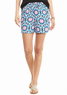 crown & ivy™ Medallion Mayhem Soft Shorts