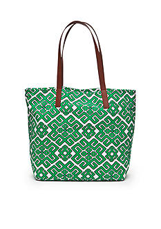 crown & ivy™ Lattice Beach Tote