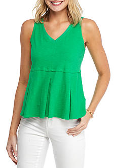 Crown & Ivy™ Solid Sleeveless Knit Top