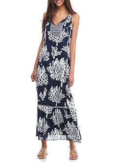Crown & Ivy™ Print Maxi Dress
