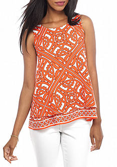 crown & ivy™ Tangier Printer Tier Top