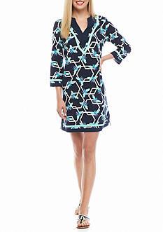 crown & ivy™ Printed Shift Dress