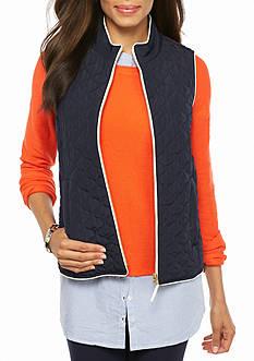 crown & ivy™ Puffer Vest