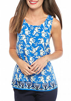 crown & ivy™ Double Layer Elephant Tank