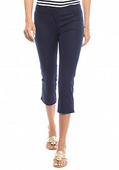 crown & ivy™ Bi-Stretch Crop Pant