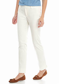 Crown & Ivy™ Bi-Stretch Pants Short Length