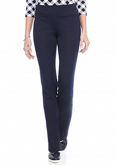 crown & ivy™ Pull On Bi Stretch Pants