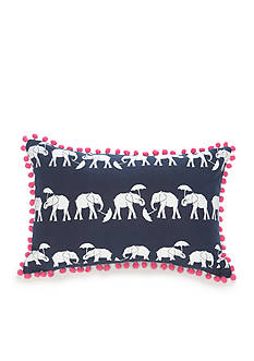 crown & ivy™ Elephant Side Pillow