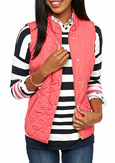 Crown & Ivy™ Solid Puffer Vest