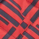 Green Womens Vest Jacket: Red/Navy crown & ivy™ Printed Puffer Vest