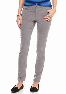 crown & ivy™ Skinny Leg Corduroy Pants