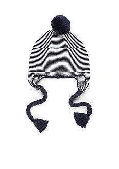 crown & ivy™ Stripe Trapper Hat