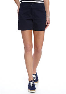 Crown & Ivy™ Solid 5-in Short