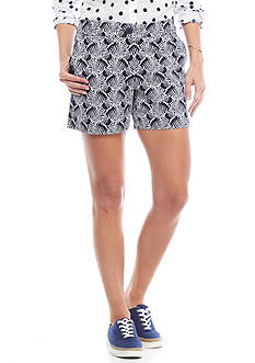 Crown & Ivy™ Zebra Print Shorts