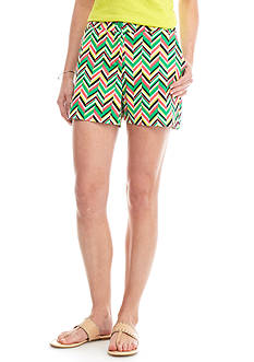 crown & ivy™ Printed Shorts