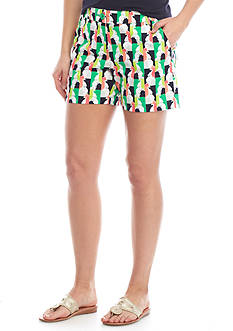 Crown & Ivy™ Woven Print Shorts