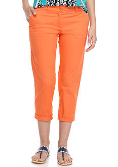 Crown & Ivy™ Solid Casual Capri