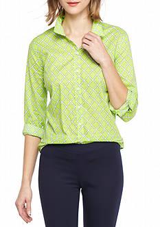 Crown & Ivy™ Quatra Woven Shirt