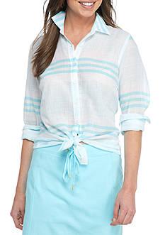 Crown & Ivy™ Stripe Woven Shirt