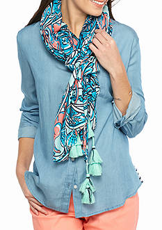 crown & ivy™ Paisley Ellie Scarf