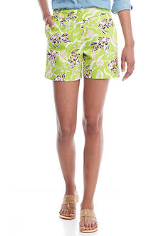 Crown & Ivy™ Print Twill Shorts