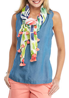 Crown & Ivy™ Painterly Scarf