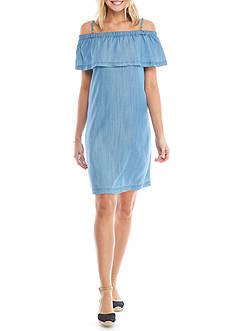 Crown & Ivy™ Chambray Dress