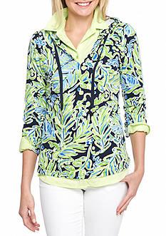 Crown & Ivy™ Long Sleeve Pullover Hoodie