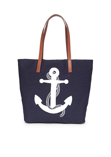 crown & ivy™ Anchor Tote