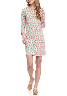 Crown & Ivy™ Printed Jersey Dress