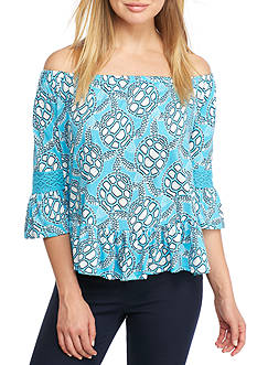 Crown & Ivy™ Knit Off The Shoulder Top