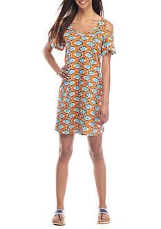 Crown & Ivy™ Cold Shoulder Knit Dress