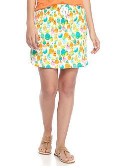 Crown & Ivy™ Knit Dolphin Hem Skort