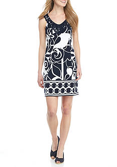 Crown & Ivy™ Sleeveless Print Dress