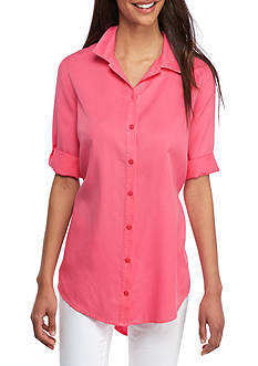 Crown & Ivy™ Colored Tencel® Shirt