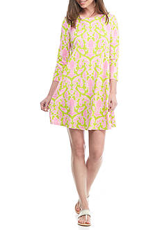 Crown & Ivy™ Print Knit Dress