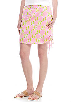 Crown & Ivy™ Print Side Tie Skort