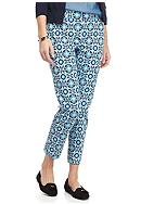 crown & ivy™ Petite Size Printed Bi-Stretch