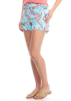 Crown & Ivy™ Petite Scallop Print Shorts