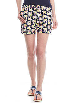 Crown & Ivy™ Petite Woven Print Short