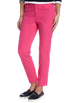 Crown & Ivy™ Petite Flat Front Woven Pant
