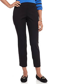 crown & ivy™ Petite Size Pull-On Bistretch Pants