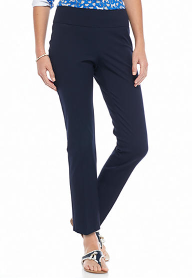 crown & ivy™ Petite Size Pull-On Bi-Stretch Pant - Short