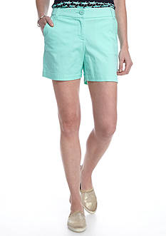 Crown & Ivy™ Petite Solid Shorts