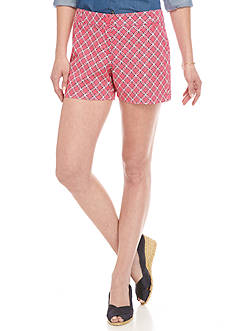 Crown & Ivy™ Petite Size Northstar Print Shorts