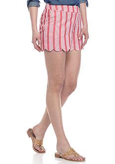 Crown & Ivy™ Petite Quad Stripe Short