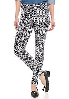 crown & ivy™ Petite Size Printed Bi-Stretch Linkup Pant